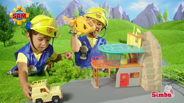 Feuerwehrmann Sam Bergrettungszentrum Video 3