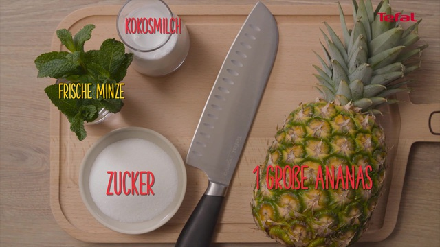Tefal - My ccoking guide: Karamellisierte Ananas Video 7