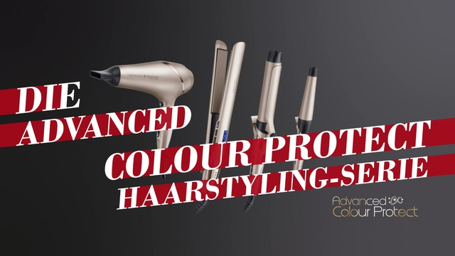 Remington - Advanced Colour Protect Haarstyling-Serie Video 5