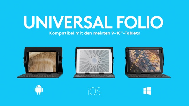 Logitech - Universal Folio Video 3