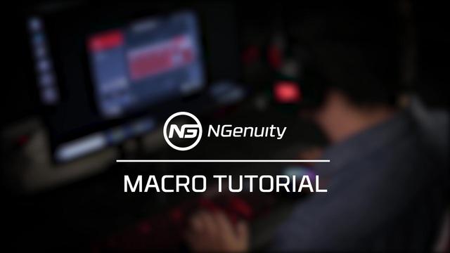 Kingston - HyperX NGenuity Software - Macro Tutorial Video 13