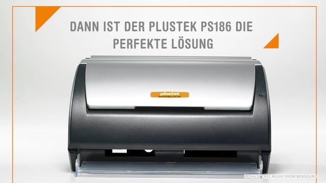 Plustek - SmartOffice PS186 Scanner Video 3