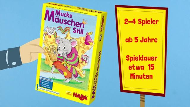 HABA Mucksmäuschenstill ein leises Geschicklichkeitsspiel (deutsch) Anleitungsvideo