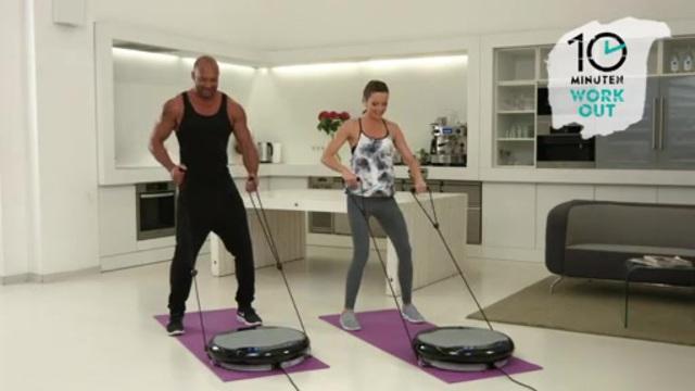10 Minuten Workout - Vibrationsplatte Slim Video 3