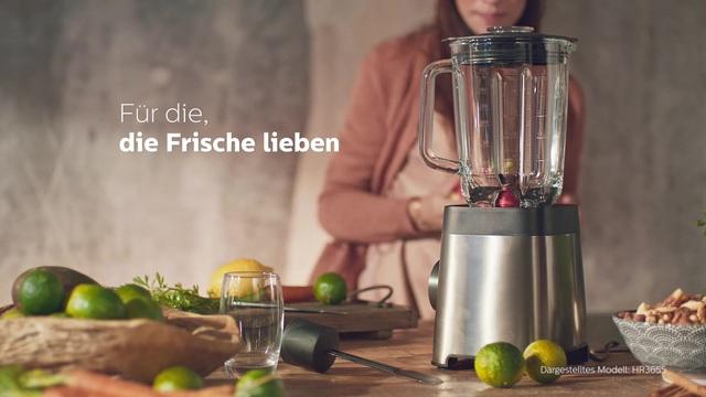 Philips Viva Titanium Hochleistungsmixer HR3657/90 Video 3
