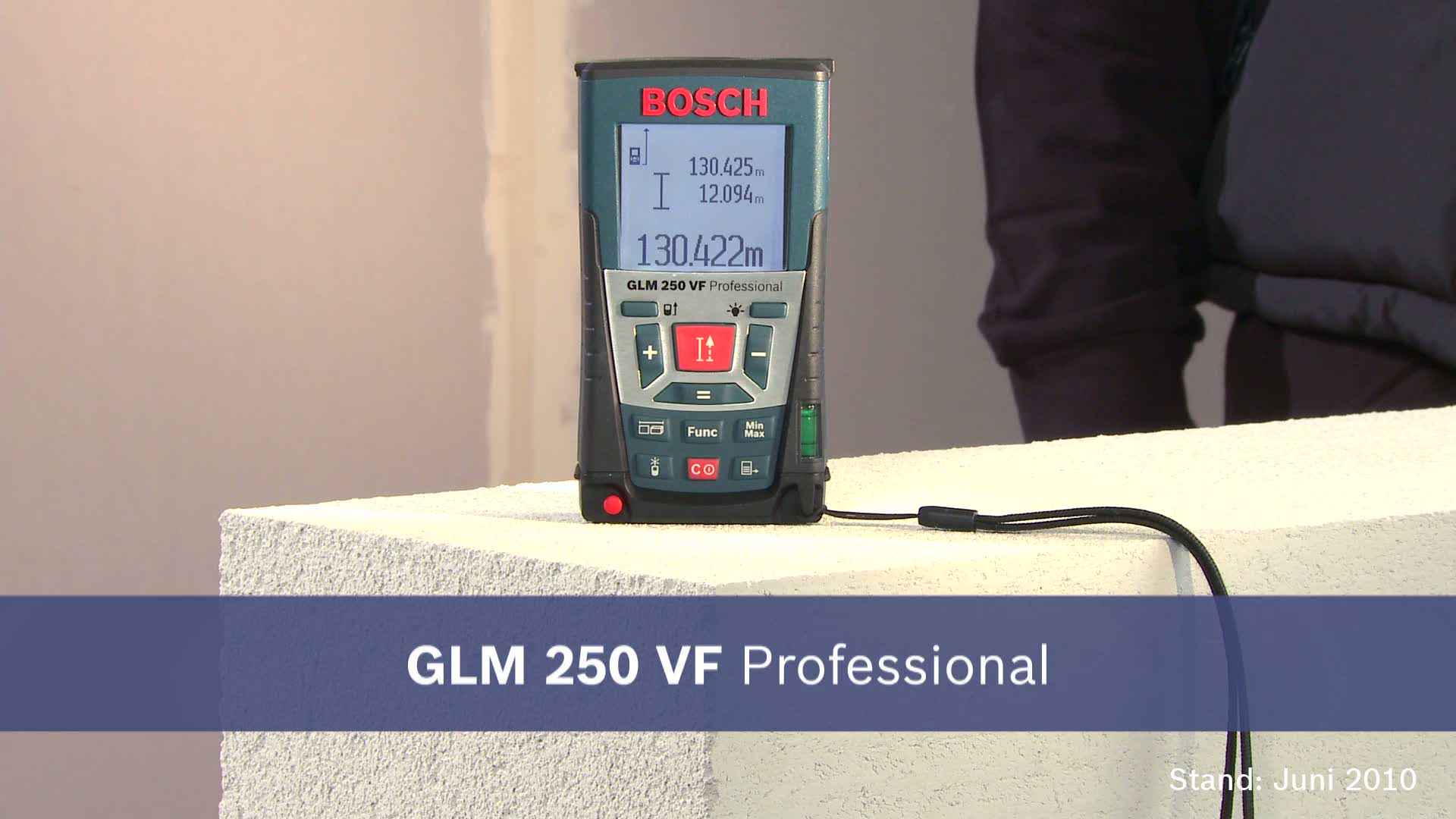 Glm vf laser entfernungsmesser bosch professional