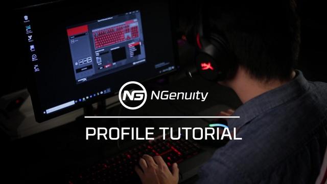 Kingston - HyperX NGenuity Software - Profile Tutorial Video 12